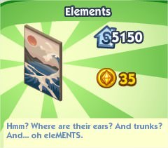 The Sims Social, Elements
