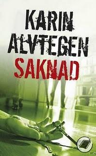 SAKNAD, Karin Alvtegen