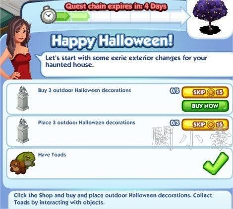 The Sims Social, Happy Halloween! 2