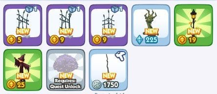 The Sims Social, halloween 4
