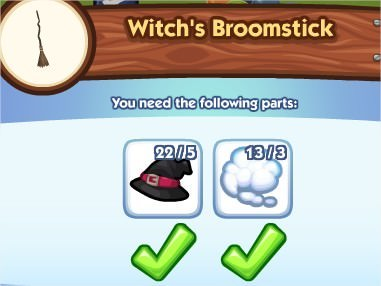 The Sims Social, Witch's BroomStick