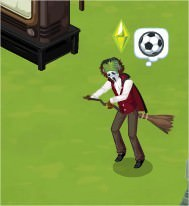 The Sims Social, Witch