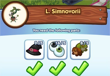 The Sims Social, L. Simnovorii