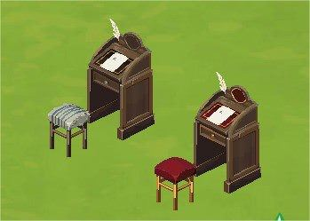 The Sims Social, Haunted Desk
