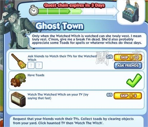 The Sims Social, Ghost Town 4