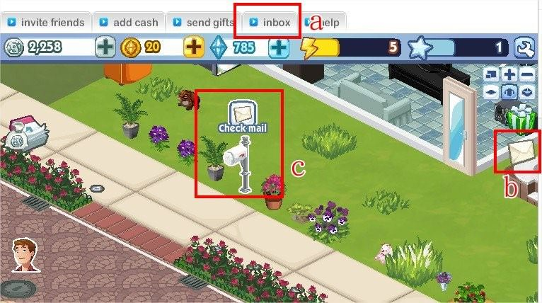 The Sims Social, gift system