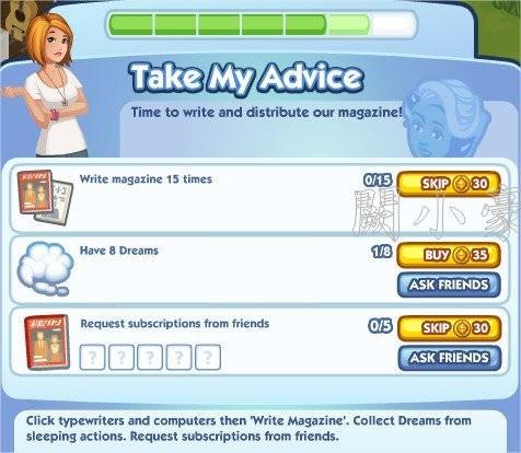 The Sims Social, Take My Advice 6