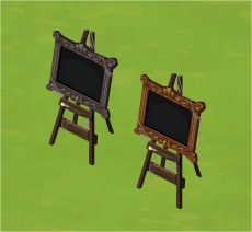 The Sims Social, Haunted Easel