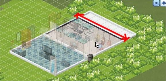 The Sims Social, room