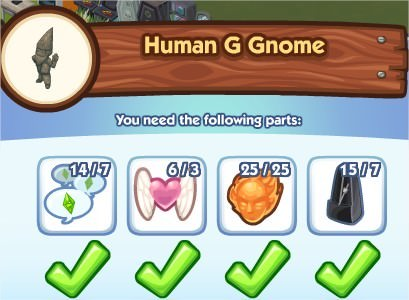 The Sims Social, Human G Gnome