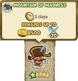 Adventure World, Mountain Of Madness