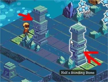 Adventure World, Rub That Stone!