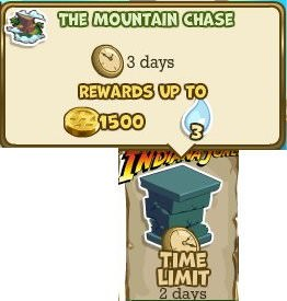 Adventure World, The Mountain Chase
