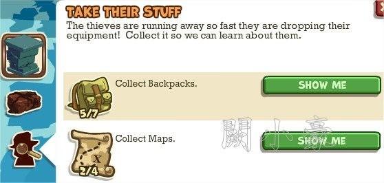 Adventure World, Take Their Stuff