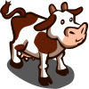 Red Brown Cow