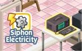 The Sims Social, Siphon electricity