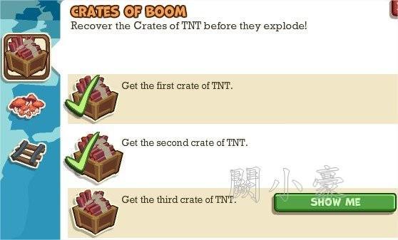 Adventure World, Crates Of Boom