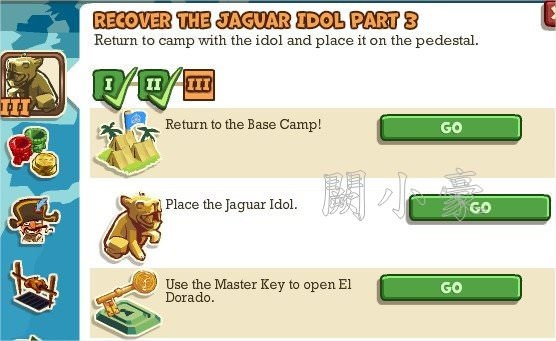 Adventure World, Recover The Jaguar Idol Part 3