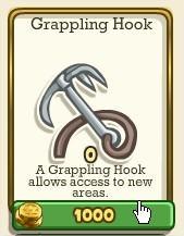 Adventure World, Grappling Hook