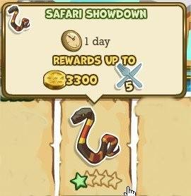 Adventure World, Safari Showdown