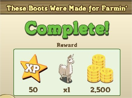 FarmVille, These Boots Were Made for Farmin'