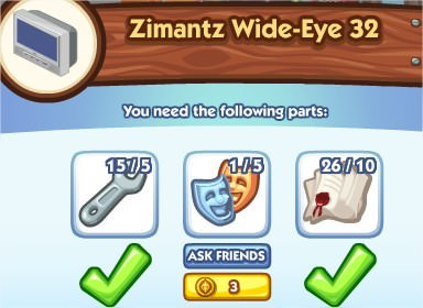 The Sims Social, TV