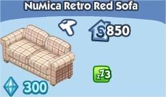The Sims Social, sofa