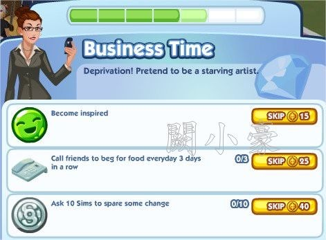 The Sims Social, Business Time 5