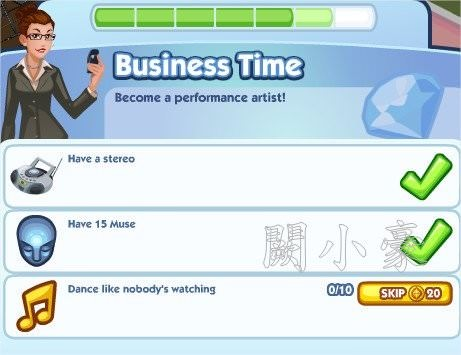 The Sims Social, Business Time 6