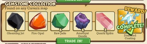 Adventure World, Gemstone Collection