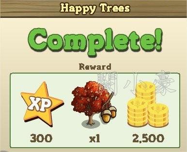 FarmVille, Happy Trees