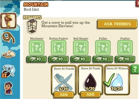 Adventure World, Mountain