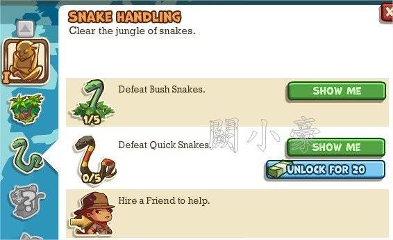 Adventure World, Snake Handling