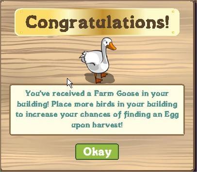 FarmVille, aviary