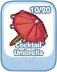 The Sims Social, Cocktail Umbrella
