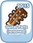The Sims Social, Guitar Parts