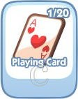 The Sims Social, Playing Card