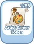 The Sims Social, Arist Career Token