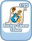 The Sims Social, Rocker Career Token
