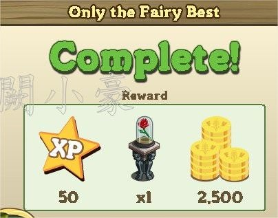 Only The Fairy Best