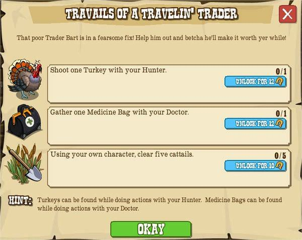 Travails of a Travelin Trader