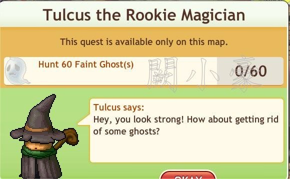任務:Tulcus the Rookie Magician