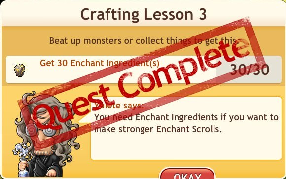 任務:Crafting Lesson 3