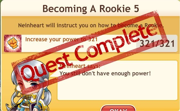 任務:Becoming A Rookie 5