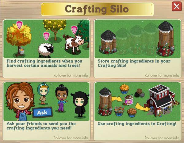 FarmVille Crafting Silo