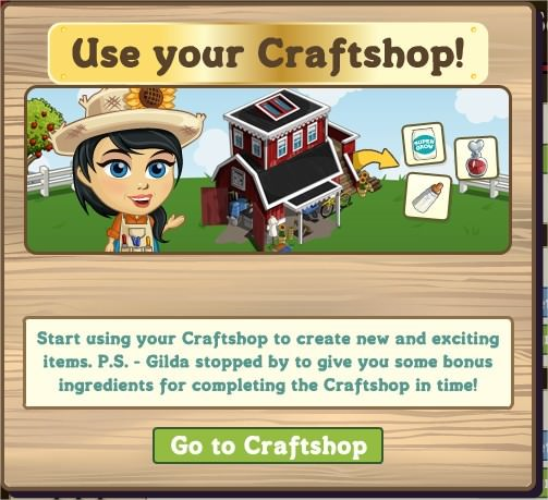 FarmVille, Craftshop