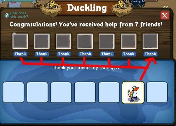 FarmVille, Ducking