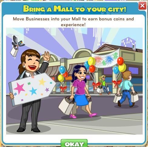 CityVille, Mall