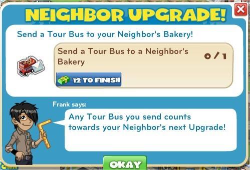 Neighbor Upgrade!