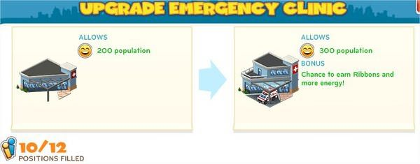 CityVille, Emergency Clinic